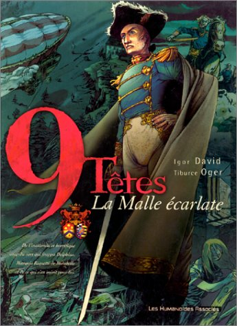 Neuf têtes, tome 1 : La Malle écarlate
