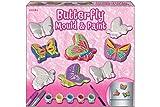 kreative kids TY0068 - Gießform und Farbset Schmetterling im Farbkarton -