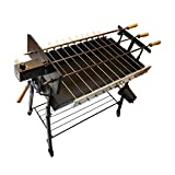 Tritogenia Inline Supreme Cyprus Charcoal Grill, Foukou, with one Multispeed 0-55RPM Motor and one 6RPM Motor