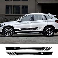 JIERS BMW X1 E84 F48のための車のステッカー装飾自動サイドストライプデカールスタイリングカーアクセサリー