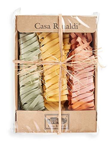Casa Rinaldi Nudeln 'Pizzi Tricolore mit Ei' 3 Farbig, 500 g