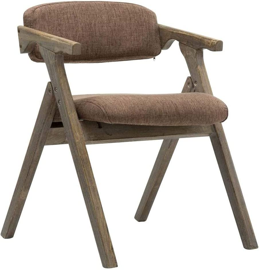 VERDELZ Dining Chair Wooden Folding Home Outlet ☆ Free Shipping Overseas parallel import regular item Armchair Backrest