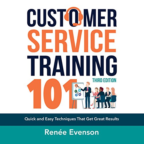 Customer Service Training 101 audiobook cover art