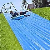 Giant Slip And Slide   8 Meters Slide   Premium Quality Sliding Mat   Strongest Waterslide   Outdoor Water Sport   Game   100 Fun   House Party   Giant Backyard Waterslide