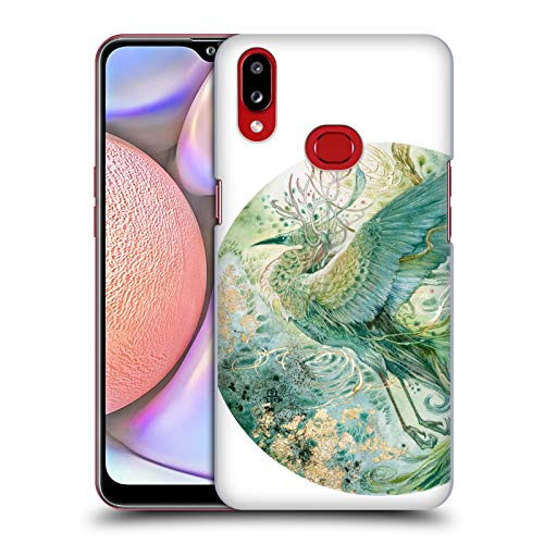 Officiële Stephanie Law Feniks Vogels Hard Back Case Compatibel voor Samsung Galaxy A10s (2019)