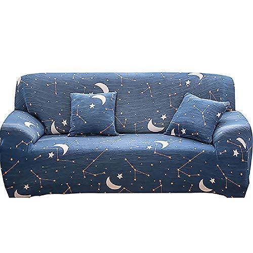 KTUCN Fundas de sofá, 1/2/3/4 Asiento, Funda de sofá elástica para el hogar, Funda de sofá de Envoltura Completa de tamaño estándar, para sofá Tipo L, 8, 3seats 190-230cm