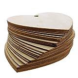 Zoom IMG-1 kurtzy set 100 cuori legno