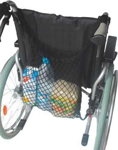 Rollstuhlnetz Farbe: schwarz - Einkaufsnetz