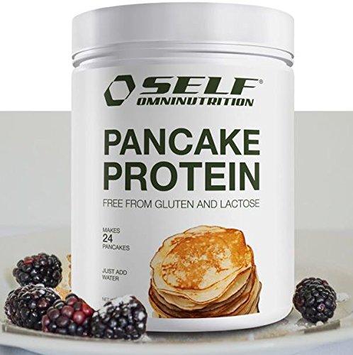 Self Omninutrition Protein Pancake 240g 48{f4672f721c6bf9abfa2747f719670793551549a1a272842207479a6989b45759} di proteine senza lattosio e glutine, con omega3