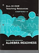 All-in-One Teaching Resources, Chapters 1-4, Prentice Hall Mathematics Algebra Readiness