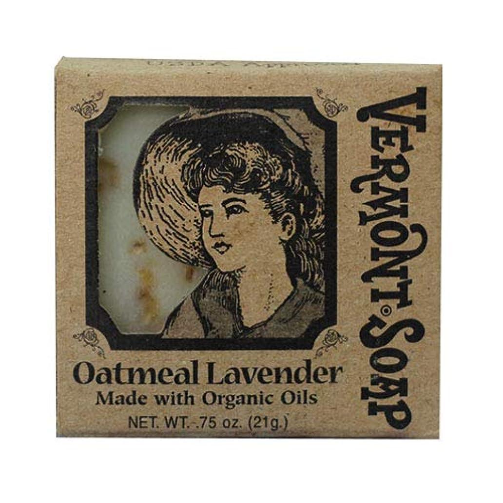 VermontSoap バーモントソープ トラベルサイズ 3種類 (オートミール ラベンダー) 21g オーガニック石けん 洗顔 ボディー