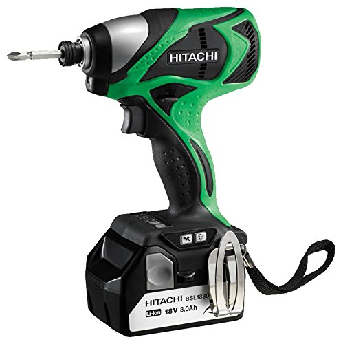 Hitachi WH18DBDL Rotary Hammers Bohrhammer, 3200 ppm, Schwarz/Grün, Lithium-Ionen-Akku, 1,7 kg, 157 mm