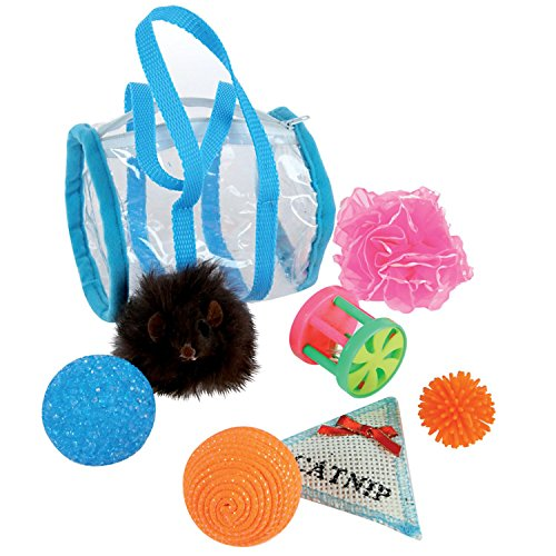 Zolux – Bolsa de 7 juguetes Cat Springfield boursicat
