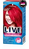 Schwarzkopf Live Ultra Brights Or Pastel Red Pillar Box Semi-Permanent Hair Dye
