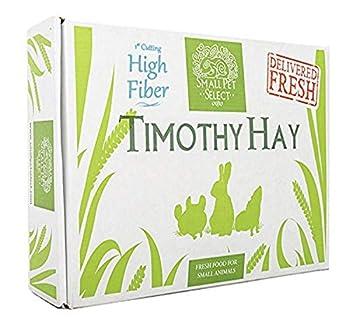 Small Pet Select 1st Cutting  High Fiber  Timothy Hay Pet Food 10 LB