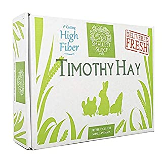 "Small Pet Select 1st Cutting ""High Fiber"" Timothy Hay Pet Food, 4.54 kg 12"
