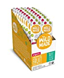 Wildmade Tropical Fruit Organic Fruit Rolls (18 pack). Fruit Snacks with No Added Sugar, Gluten Free Snacks, Healthy Snacks for Kids, Organic Fruit Snacks, Vegan Snacks