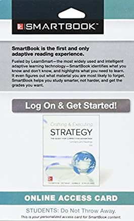 SmartBook Access Card for Crafting & Executing Strategy: Concepts and Readings by Arthur Thompson (2015-01-27)