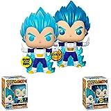 Figura Pop Dragon Balles # 713 Blue Vegetaes Powering Up (Brilla En La Oscuridad) Figura De Acción J...