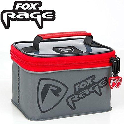 Fox Rage Voyager welded Bag Small 16,5x12,5x10,5cm - Angeltasche zum Spinnfischen, Tackletasche zum Spinnangeln, Anglertasche