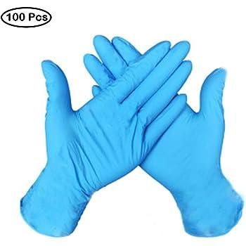 Eon Systems - Guantes de látex (100 unidades) azul L Tamaño y 10 Botellas de Spray: Amazon.es: Industria, empresas y ciencia