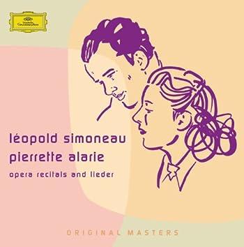 Opera recitals and lieder
