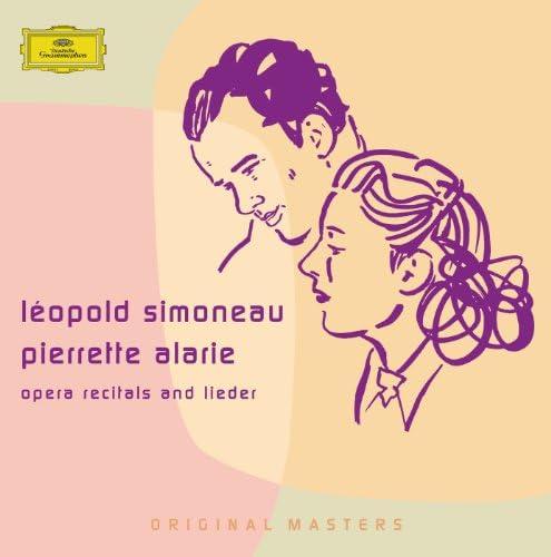 Léopold Simoneau & Pierrette Alarie