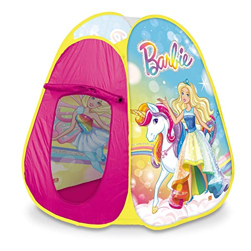 Mondo- Mattel Barbie Pop-Up Tent 28427, Multicolor, 28519