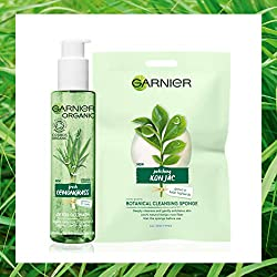 Your perfect cleansing duo For deep cleansing and a healthy glow From the new Garnier Organic range Use the Garnier Organic Lemongrass Detox Gel Wash, enriched with Organic Lemongrass essential oil, to cleanse away dirt, oil and pollution residues wi...