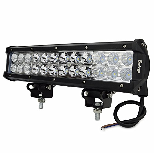Safego C72WCB 12S 12 Pulgadas 72 W Led Off Road Light Bar para 4 X 4 Tractor de Camiones ATV Cree Chips Combo Spot Inundación Beam Trabajo Lámpara