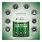 Purely Holistic Turmeric Curcumin 120 Veg Caps with BioPerine, 700mg, 95% Curcuminoids #2