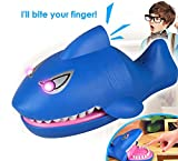 Peedeu Toy Shark Bite Hand Game,Crocodile Biting Finger Electronic Game Funny Toys with Glowing Eyes for Ages 3 Kids