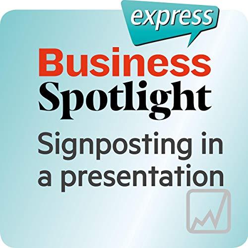 Business Spotlight express - Kompetenzen: Wortschatz-Training Business-Englisch - Eine Präsentation strukturieren Titelbild