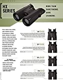 Steiner HX Series 15x56 Binoculars - Versatile, Clear, High Precision Adventure Optics for Low Light and Daylight Situations , Black