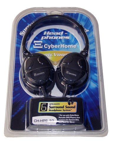 CyberHome CH-SRD-600 6-Kanal Kopfhörer mit externem 5.1 Decoder