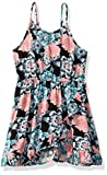Roxy Girls' Big Today Dress, Anthracite Crystal Flower, 10