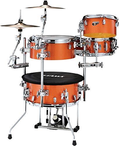 TAMA, 4 Drum Shell Pack, Bright Orange Sparkle (CJB46BOS)