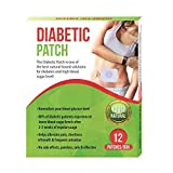 Natural Herbs 100% Real Diabetic Patch That Reduces High Blood Sugar 12 Patches (1 Box)