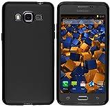 mumbi Hülle kompatibel mit Samsung Galaxy Grand Prime Handy Hülle Handyhülle, schwarz