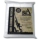 S2Delta Gun Cleaning Patches, PremiuS2Delta Gun Cleaning Patches, Premium Quality, Highly Absorbent, Bulk Cleaning Patches, Cotton Flannel (2.25' Quantity=600)