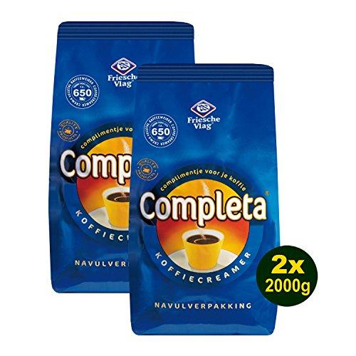 Completa Kaffeeweisser, Koffiecreamer 2x 2kg (4kg) - Milchpulver