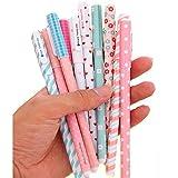 leisial 10pcs multi colores colorido bolígrafos de tinta de gel (mayorista papelería kawaii, 1, 1