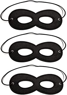 Super Hero Masks, Incredibles Black mask for Halloween Masquerade Party Supplies