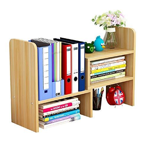 卓上ラック 卓上 小 物 書類 収納 整理 デスク上置き棚 伸縮型本立て 卓上収納 木製 多種組み立て方式 引き出し付き 大容量 事務用品 仕切りく 組み立てが簡単 多種組み立て方式