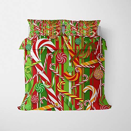 ZKDT Juego de ropa de cama para niños, suave y cómoda, de microfibra, juego de 3 (220 x 240 cm + 50 x 75 cm, estilo 26)