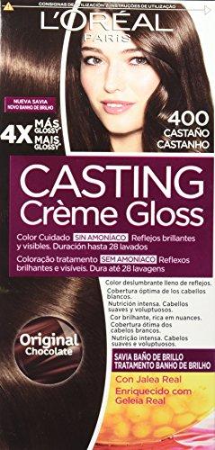 L'Oréal Paris Casting Créme Gloss Coloración sin Amoniaco, Tono 400 Castaño...