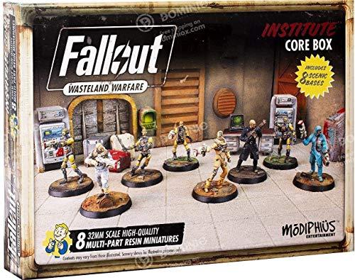 Fallout Wasteland Warfare Institute Core Box Juego de miniaturas