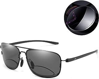 Men Gepolariseerde Leesbril Retro TR90 En Lichtmetalen Full Frame Dubbel Licht Bifocale Lens Voor Het Vissen Rijden Uv400 ...