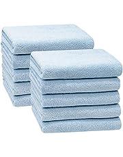ZOLLNER set van 10 handdoeken, 50x100 cm 100% katoen, 400 gsm, 346