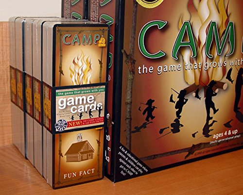 Education Outdoors Booster Pack for Camp Board Game